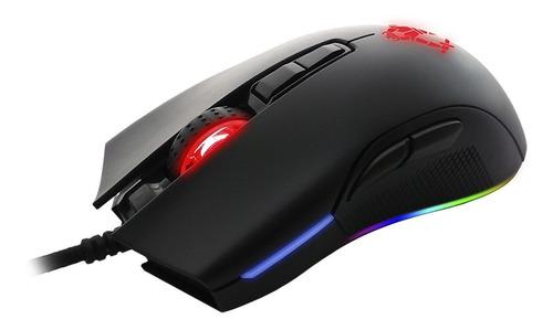 Imagen 1 de 7 de Mouse Gamer Yeyian Claymore Rgb 12000 Dpi Teflon Resistente