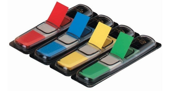 Mini Banderitas Señaladoras 3m Post-it 4 Colores 11,9x43,2mm