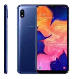 Samsung Galaxy A10, 32gb, Octa Core, Câmera 13mp, Azul