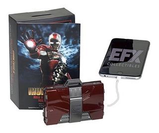 Efx Iron Man Mark V Armadura Maleta Cargador De Bateria Movi