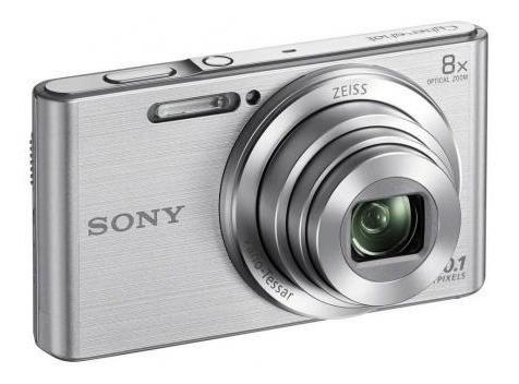 Câmera Sony Dsc-w830 Prata 20.1 Mp Zoom 8x Temos Loja