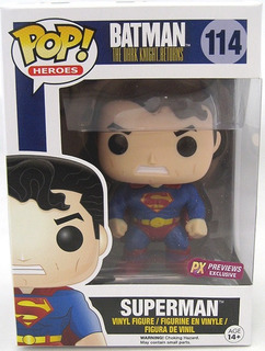 Funko Pop Heroes #114 Dark Knight Superman Exclusive Nortoys