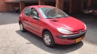 Peugeot 206 Xra Modelo 2000 74.800 Km