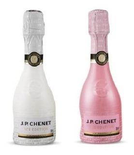 Kit 2 Vinhos Rose E Branco Baby Francês Espumante J.p.chenet