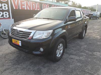 Toyota Hilux 2.7 Sr Cab. Dupla 4x2 Flex Com Gnv Aut. 4p 2012