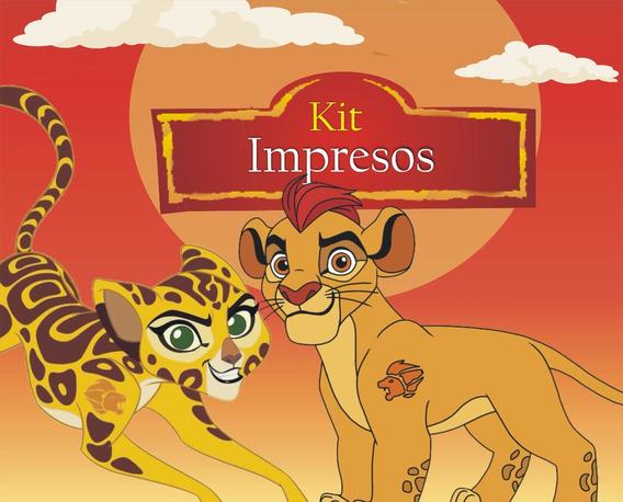 La Guardia Del León Kit Impreso Personalizados 15 Niños