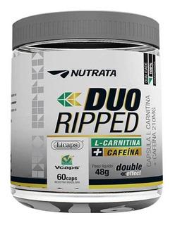 Duo Ripped - 60 Cápsulas - Nutrata