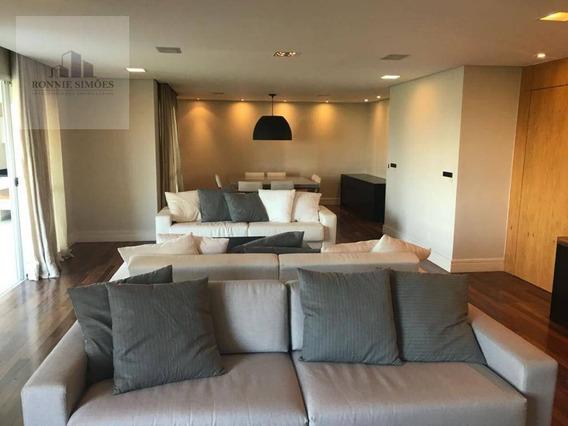 Apartamento Para Venda E Locação Na Vila Sofia, Condomínio Iepê, 4 Dormitórios, 3 Suítes, 3 Vagas De Garagem, 233 M², São Paulo. - Ap0940