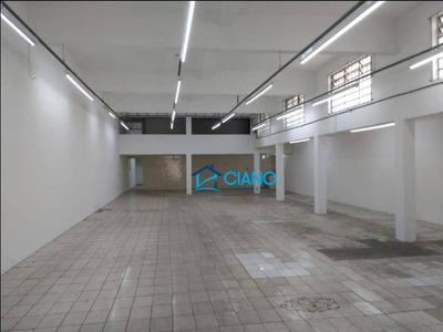 Galpão Para Alugar, 440 M² Por R$ 9.500/mês - Mooca - São Paulo/sp - Ga0230