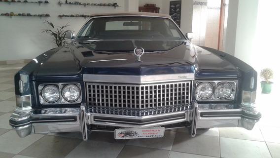 Cadillac - 1973 - Placas Preta - Conversível