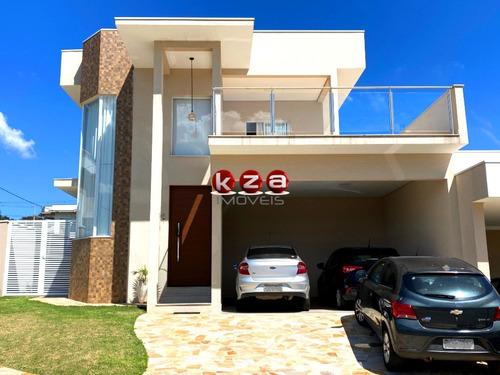 Casa Com 3 Dormitórios, Moderna, A Venda Em Condomínio Em Valinhos - Ca01841 - 69370331
