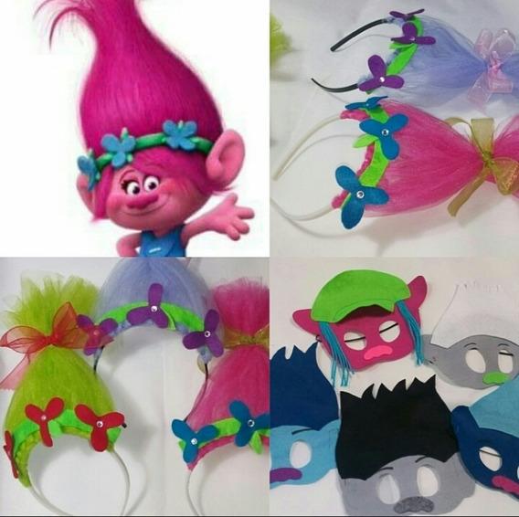 Paquete Trolls Poppy Y Ramón