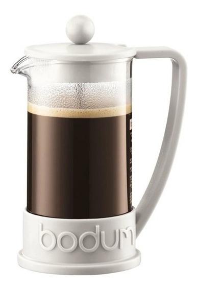Bodum Cafetera Blanco Blanca Brazil 8 Pocillos Tazas Café