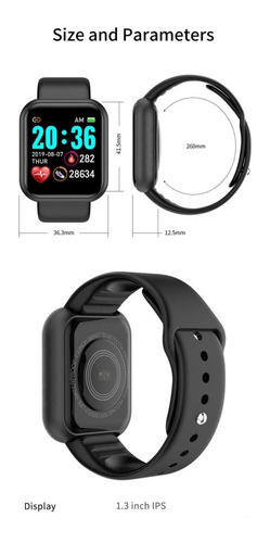 Smartwatch Reloj Inteligente Y67 Y68