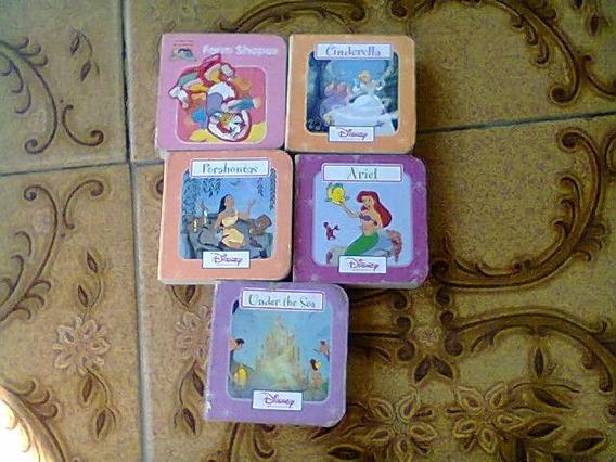 Lote De Mini Livros Infantis
