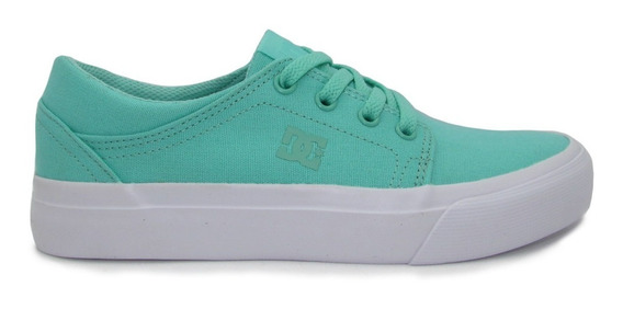 Tenis Dc Shoes Youth Trase Tx Adgs300061 Mnt Mint Menta