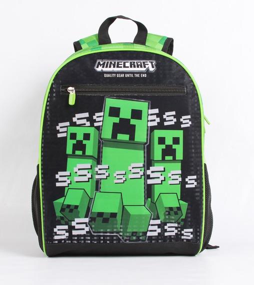 Kit Mochila Minecraft 11487 + Estojo 11264 Original