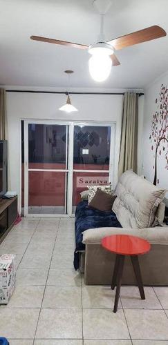 Apartamento Com 2 Dormitórios À Venda, 63 M² Por R$ 290.000,00 - Parque Selecta(montanhão) - São Bernardo Do Campo/sp - Ap3853