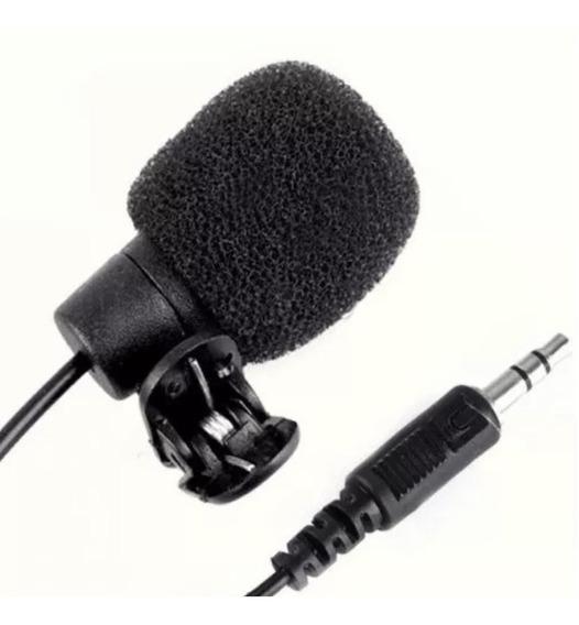 Microfone Lapela P/ Celular Filmadora Instrumento Musical