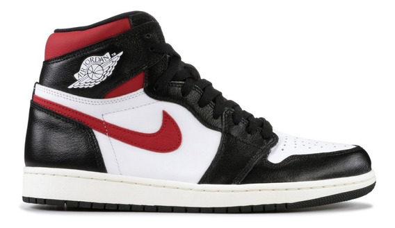 Nike Air Jordan 1 Black Gym Red - 42