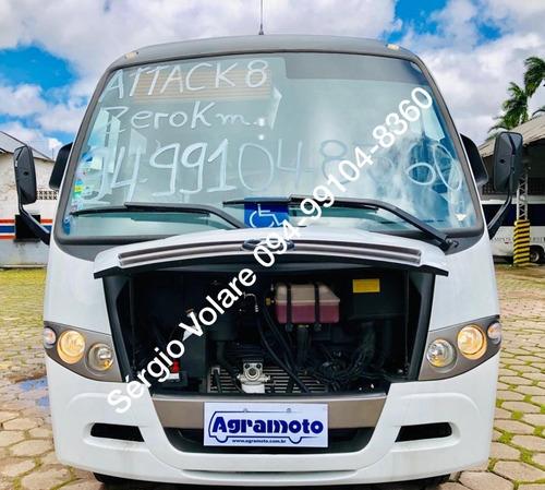 Micro Ônibus Volare Attack 8 - 7.385 Mts Dta Executivo Cor