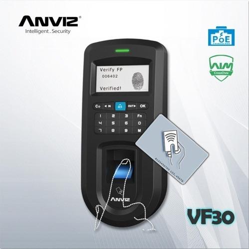 Control De Acceso Y Asistencia  Biométrico Anviz Vf30