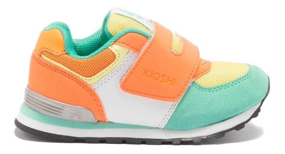Zapatillas Kioshi Leko Aqua Orange