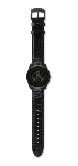 Relogio Swatch Retrograde Cold Hour Black - Yrb402