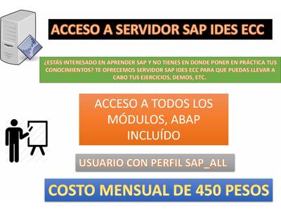 Acceso A Servidor Sap Ides Ecc Erp