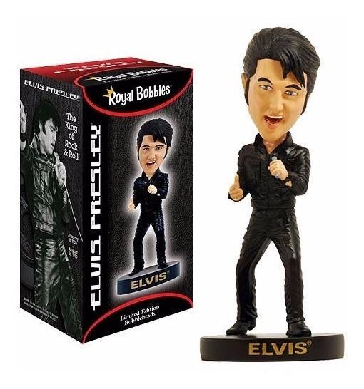 Boneco Elvis Presley 1968 Comeback Tour Bobble Head 20cms