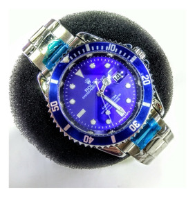 Submariner Azul Com Caixa