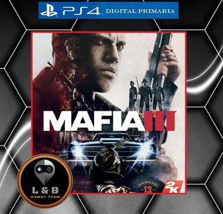Mafia 3 Ps4 Digital Primaria