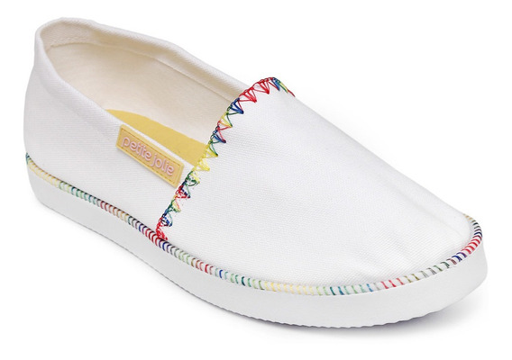 Alpargata Petite Jolie Clean White Pj3092