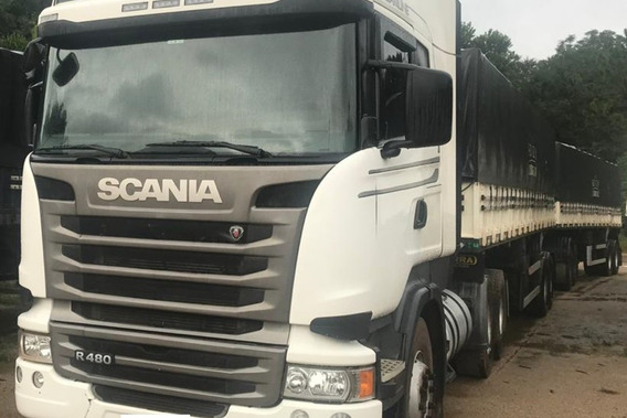 Scânia R480 Streamline 2014/2015 Com Rodo Trem
