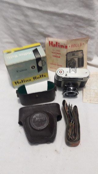 Máquina Fotografica Halina Antiga
