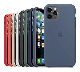 Funda iPhone 11 11 Pro 11 Pro Max Silicone Case Microcentro