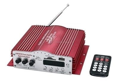 Modulo Digital Amplificador 4 Canais Controle Rca Padrão Kin