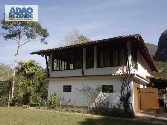 Sítio Com 6 Dormitórios À Venda, 1310000 M² Por R$ 1.300.000,00 - Colônia Alpina - Teresópolis/rj - Si0023
