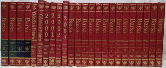 Livro Coleção Enciclopédia Barsa Em 24 Volumes.