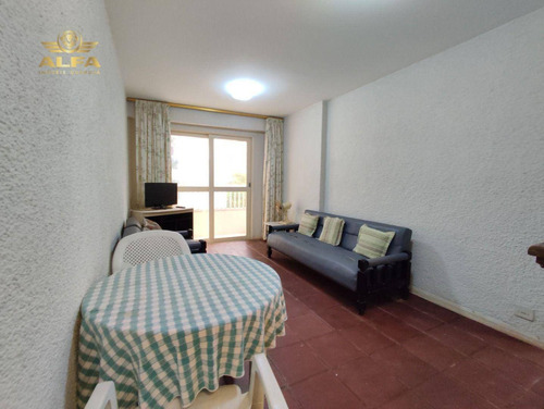 Imagem 1 de 13 de Apartamento A Venda Na Praia Das Pitangueiras, 2 Dormitórios Mais Dependência, Vista Para O Mar, 80 M² De Área Útil. - Ap1091