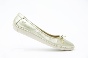Flexi Dama Zapatos Modernos 29103 Oro 100% Originales!!