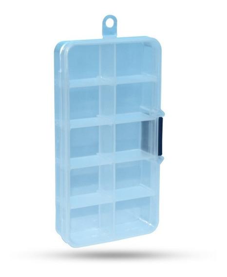 Caja Plastica 10 Separadores Componentes Electronica /a