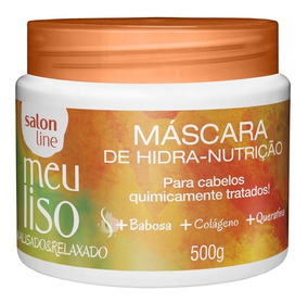 Máscara De Tratamento Salon Line Meu Liso #alisadoerelaxado