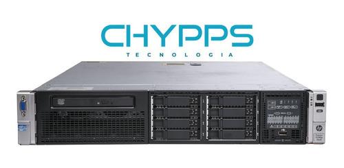 Servidor Hp Dl380p Gen8  Dual Xeon E5-2650  64gb Ram Hd300gb