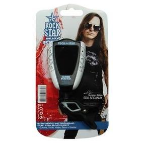 Afinador/metronomo P/ Violão Guitarra Baixo Rock Star Rst2