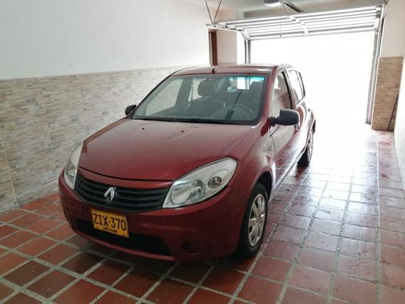 Renault Sandero 2012. Conversión A Gas Y Seguro Todo Riesgo