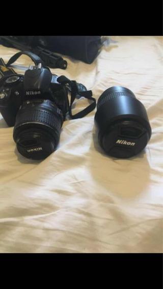Câmera Nikon Hd Kit Completo