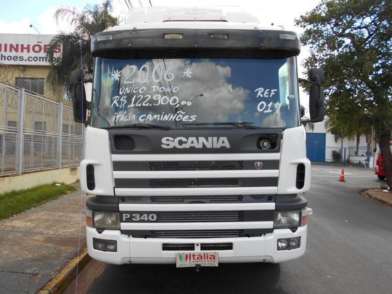 Scania P 340 2006 Único Dono Motor Novo