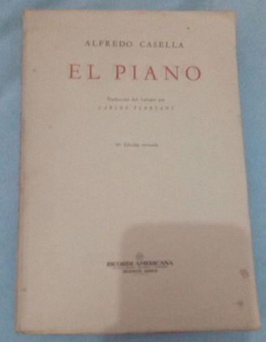 Revista El Piano Alfredo Casella