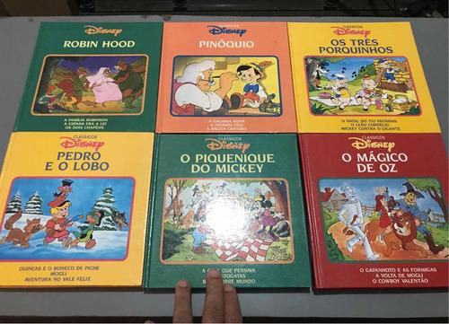 Imagem 1 de 10 de Clássicos Disney 6 Volumes